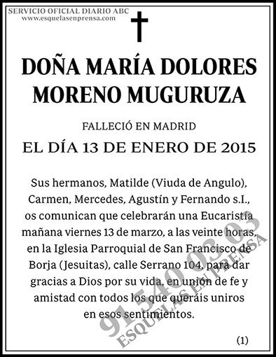 María Dolores Moreno Muguruza